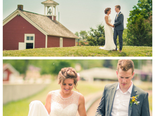 The truly beautiful Mariah and Logan. Iowa complimented them well:) I enjoyed every bit of this process, as well as spending time with their precious family, whom I love.