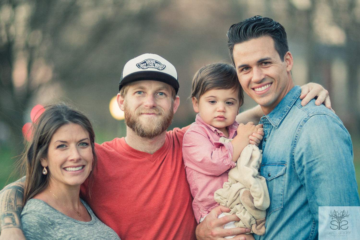 My dear and beautiful friends. The Reeders! I tell ya, it was super difficult narrowing this shoot down. The little one, Jack, was keeping me busy!!