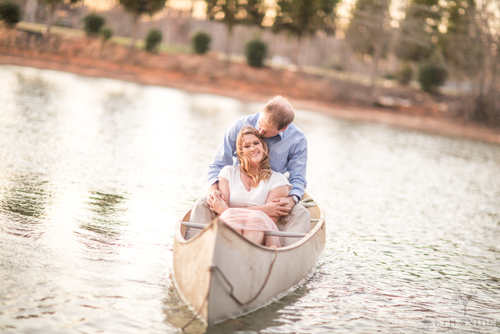 Brad and Jacquelyn's Engagement Session—Towns, Fields, and Canoe's