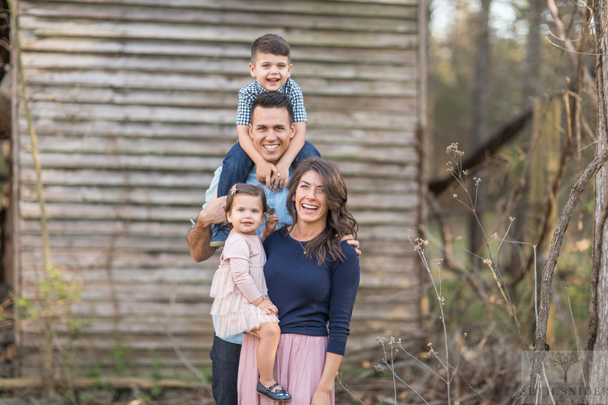 Justin, Jen, Jack, and Josie :) ———–One of the most incredible families I know. Joy was the theme of this shoot for sure!