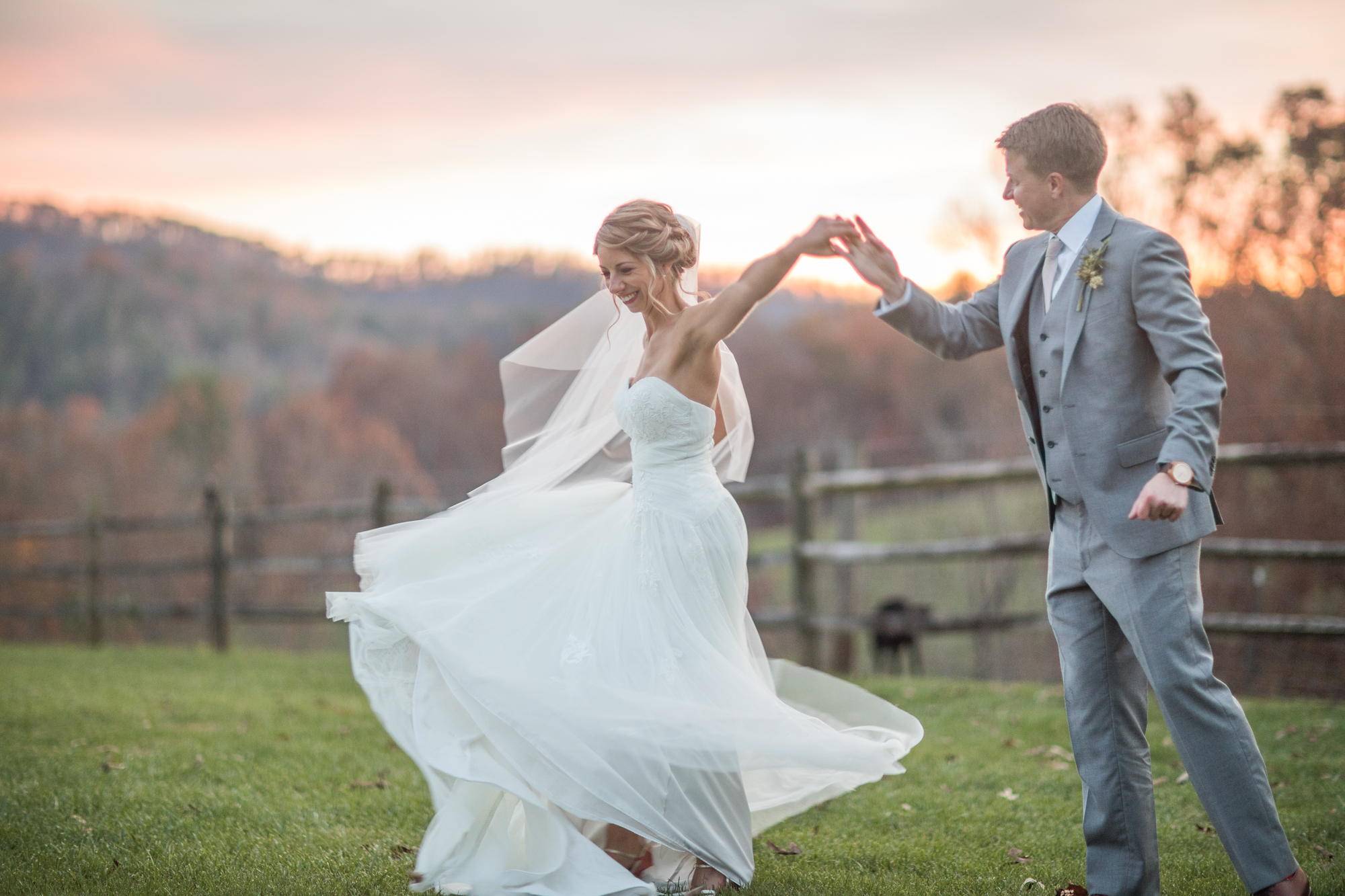 Chris and Laura—–Asheville Mountain Wedding