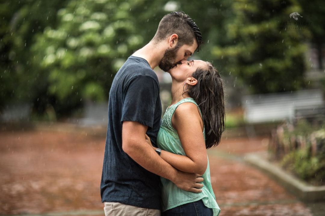 Adam & Kaylee (A couple that knows how to handle a good rainin' on)